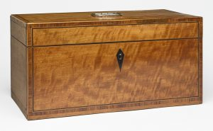 An inlaid tea caddy is the perfect introduction to veneer and inlay.