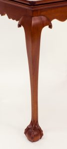 Cabriole legs come in all shapes and sizes, and were included in a variety of furniture forms.