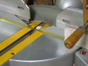 Standard carbide tipped woodworking tools can cut brass.