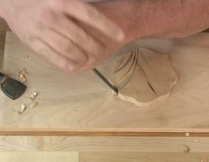 Chop cuts are instinctual for many woodworkers.