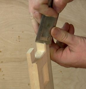 Slicing cuts can be made vertically as well as horizontally.
