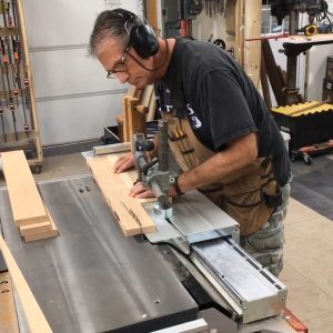 In sliding table saw basics you'll learn several operations that differ greatly from a fixed table saw.