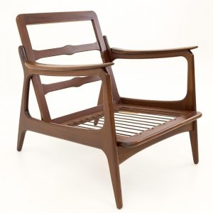Our Mid-Century Modern Lounge Chair is an outstanding project for woodworkers of all levels.