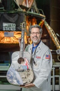 Scott G. Philips and the Moon Tree Guitar