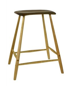 My adaptation of Wharton Esherick's stool with four legs.
