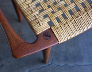 Make a Danish Modern stool in this week-long class.